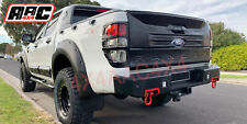 Steel Rear Bar to suit Ford Ranger 2012-2019 with Sensor Holes