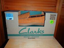 Men Slippers Clark Brown size 8 (item #59)