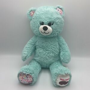 Build a Bear Thin Mints Cookie Scented Green 16 in Plush Girl Scout *READ* B