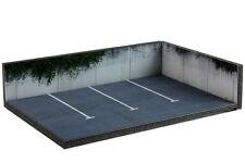 Diorama Parking | Parking lot - 1/76ème | OO scale - #OO-3-AN-AP-AQ-001