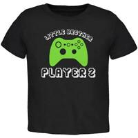 Little Brother Player 2 New Gamer Toddler T Shirt