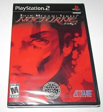 Shin Megami Tensei Nocturne for Playstation 2 Factory Sealed! Brand New!