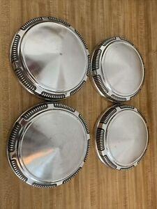 Dodge Plymouth Dog Dish Hubcaps  Hub Caps  Set Of 4 Hemi  69 70 71 72 73 74 Oem