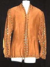 MEDIEVAL RENAISSANCE CRUSADES TUNIC W/SILVER STUDS & SPLIT SLEEVES CLIVE MORTON