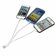 USB Car Charger Adapter 3 in 1 Cable For Samsung iPhone 4 5 6