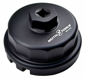 Motivx Tools Oil Filter Wrench For Toyota, Lexus, Scion 64mm 2.0L - 5.7L Engines