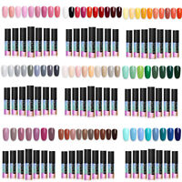 5ml Soak Off UV Gel Nail Polish Kit Gel Nails Manicure Salon Nail Set LILYCUTE