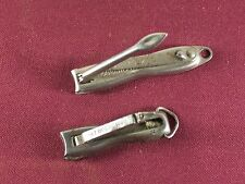 Antique nail clippers one Pat. October 20 1896 and The Rexall Store advertising