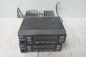 Lot of 2 Kenwood TK-860HG-2 UHF FM Radios / Transceivers