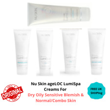 Nu Skin ageLOC LumiSpa Creams For Dry Oily Sensitive Blemish & Normal/Combo Skin