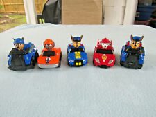 Lot Of 5 Spinmasters Paw Patrol Vehicles Chase Ect.
