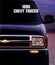 CHEVROLET TRUCKS Prospekt USA 1995 + Suburban Tahoe Blazer Pickup Sportsvan ++++