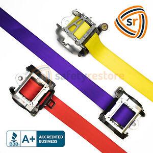 Custom Color Seat Belt Webbing Replacement - Seatbelt Harness Strap