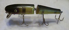 VINTAGE PAW PAW JOINTED PIKE LURE  9/03/14NY  WOOD