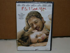 P.S. I LOVE YOU DVD MOVIE SEALED NIP. GERARD BUTLER, SWANK, KUDROW,BATES