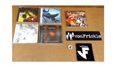 vonFrickle Complete Set Of Sealed New CDs Plus Stickers And Badge Prog Rock