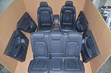 Audi Q5 8R SQ5 Lederausstattung Sport Leder Sitzausstattung Schwarz Sitzheizung