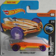 HOT Wheels-HW formula Solar ORANGE TRASPARENTE/Giallo Nuovo/Scatola Originale