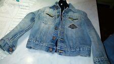 Giacchetto roy rogers bambino taglia 3/4 anni originale jeans giubbotto giacca