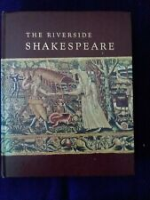 The Riverside Shakespeare by William Shakespeare (1974, Hardcover)