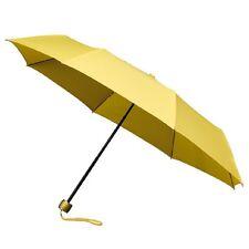 Señoras Minimax Supermini Paraguas Plegable Manual Resistente al viento-Amarillo