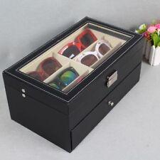 12 Sunglasses Storage Display 2 layers Stand Case Organizer Box Holder