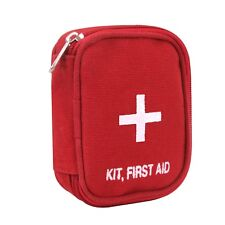 Military Zipper Medic First Aid Kit Red 8318 Rothco