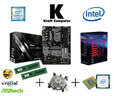 PC Bundle Generation 8 Intel i7 8700 6x4,6GHz + AsRock Z370 Pro 4 + 8GB NEU/OVP