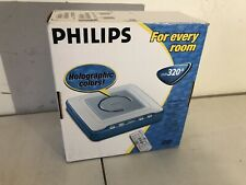 DVD PLAYER PHILIPS HOLOGRAPHIC COLORS 320B VERY RARE NEW IN BOX
