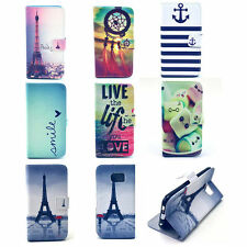 Flip New Skins Wallet Leather Case Cover Stand For Samsung Galaxy S3 S4 S5 Phone