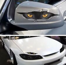 3D Cat eyes coup d'oeil Monster Mirror Wing Body Decal Effrayant Drôle Stickers Voiture UK