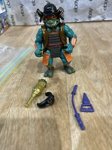 Teenage Mutant Ninja Turtles Michelangelo Samurai Near Complete 1993