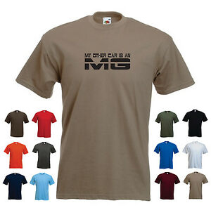 'My Other Car is an MG' Men's Funny Car Gift Birthday T-shirt