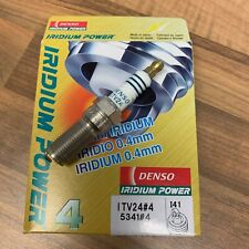 4x Genuine Denso IRIDIUM ITV24 Spark Plugs FOR MK1 RS FOCUS
