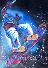 New listing 5D Diy My Diamond Art (Skateboarder) Diamond Painting Kit (New)