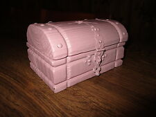 Antique Chest Miniature Restored To Style Vintage/Miniature Chest Old