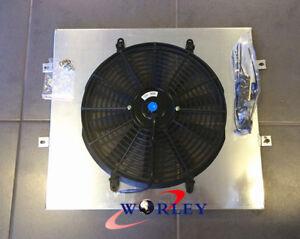 Aluminum Shroud + Fan for TOYOTA SURF HILUX 2.4/2.0 LN130 AT/MT