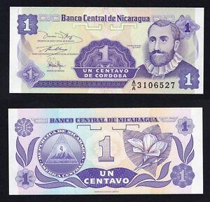 Nicaragua 1 Centavo 1991 Fds / UNC B-06