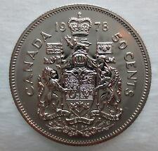 1978 CANADA 50 CENTS PROOF-LIKE HALF DOLLAR COIN