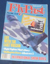 FLYPAST MAGAZINE MAY 1988 - LIFE WITH THE LAST VULCAN