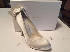 Menbur Platform Pumps Women's Shoes, Ivory, 40 EU, 9M US MSRP $195