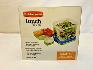 Rubbermaid Lunch Blox Salad Kit with Ice Pack