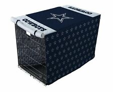 NFL Dallas Cowboys Quilted Pet Crate / Cage Cover in Sizes Large 42""