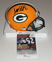 PACKERS Danny Vitale signed mini helmet w/ #45 JSA COA AUTO Autograph Green Bay