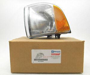 New OEM 1999-2002 Dodge Ram 1500/2500/3500 Parklamp-Turn Signal Left Park Lamp