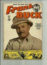 FRANK BUCK #70  1950 FOX FEATURES  GOLDEN AGE COMIC WALLY WOOD ART  PHOTO COVER