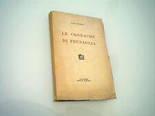FABIO TOMBARI - LE CRONACHE DI FRUSAGLIA 1927