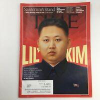 Time Magazine February 27 2012 Vol 179 #8 Supreme Leader Kim Jong-un, VG
