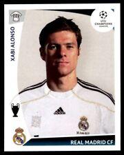 Panini Champions League 2009-2010 Xabi Alonso Real Madrid CF No. 168