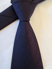 GEORGE PURPLE 4 INCH POLYESTER MANS NECK TIE